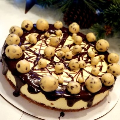 Brownie Cookie Dough Cheesecake