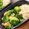 Chicken Teriyaki and Broccoli