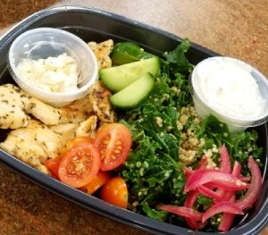 Greek Chicken Gyro Bowl